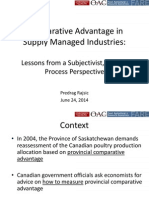 Predrag -- Comparative Advantage & Subjectivism -- June, 24, 2014