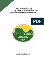 Plano Territorial de Desenvolvimento Sustentável - Chapada Diamantina -2010