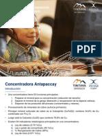 Overview Del Proceso en Concentradora Antapaccay_by GJ