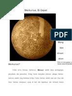 Ilmu Alamiah Dasar_Merkurius