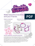 Friendship Bracelets INSTRUCTIONS