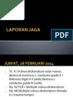 Daftar Pasien Laporan Jaga Selasa 25 Februari 2014