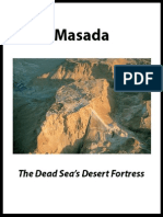 Masada the Dead Seas Desert Fortress