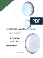 Subcuenca Huarmaca