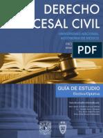 Derecho Procesal Civil 4 Semestre