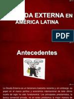 EXPOSICIÓN - DEUDA EXTERNA