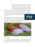 Idli Assignment