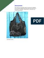 Foldaway Shopping Bag Tutorial