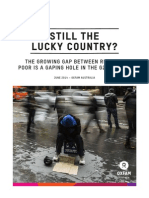 'Still the lucky country?