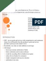 GST & International Trade 1.0