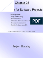 Pressman Ch 23 Estimation for Software Projects 2