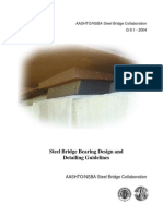 Steel Bridge Bearing Design and Detailing Guidelines - AASHTO_NSBA (G.91) (2004) WW