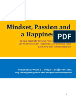 eBook - Rahasia Tentang Mindset Passion and a Happiness Life