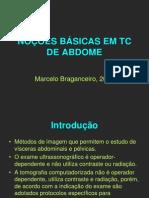 Abdome II - Noções Básicas Em Us e Tc de Abdome