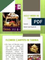 Holy Week in Tarma