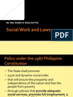Social Work and the Laws