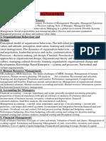 Management Option Subject