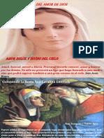 Virgen Maria -Mensajera Del Amor de Dios