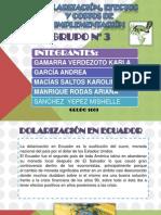 Dolarización en Ecuador Diapositivas