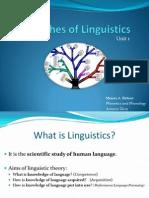 Unit 1 - 02 Branches of Linguistics