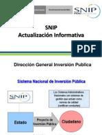 SNIP Informativa UNU Civil
