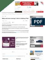 Baby and Mom Among 3 Shot in Ashbury Park - PressofAtlanticCity