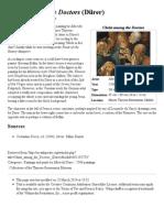 Christ Among the Doctors (Dürer) - Wikipedia, The Free Encyclopedia