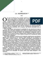 La Represión -Obras de Freud