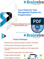 Case Study for Task Management System for Oraganization