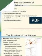 Neuroscience and Behavior 1