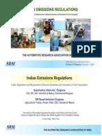 Indian Emission Regulation Booklet