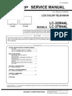 Sharp Lc32_37m44l Service Manual
