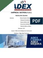 Inteligencia Comercial - Harina de Lúcuma (IV Ciclo)