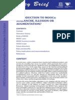 Introduction to Moocs
