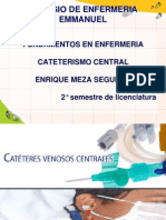 Cateterismo Central y Periferico Enfermeria