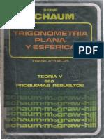 Trigonometria Plana y Esferica Schaum
