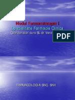 Farmacoterapie Modul I