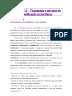 AULA 16 sebenta bacteriologia