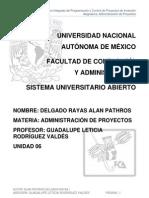 Unidad 6 Sistema Integrado de Programación y Control de Proyectos de Inversión