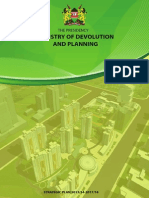Ministry of Devolution and Planning Strategic Plan 2013/14 - 2017