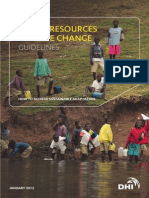 Water Resources Climate Change Guidelines
