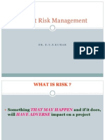Project Risk Management - Session 3