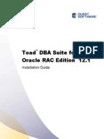 ToadforOracle 12.1 DBASuiteRACInstallationGuide