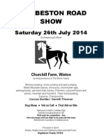 Clarbeston Road Show 2014