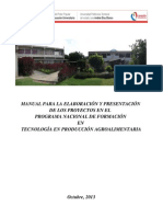 Manual de Proyecto PNF TPA