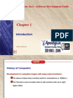 Complete Java Software Development Guide - Chapter 1