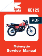 Kawasaki Service Manual - KE125
