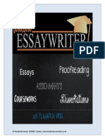 London Essay Writer