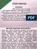 Materi Geofisika 3, Gravitasi