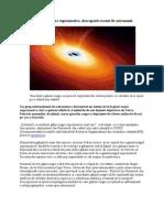 Sistem de 3 Gauri Negre Supermasive, Descoperit Recent de Astronomi